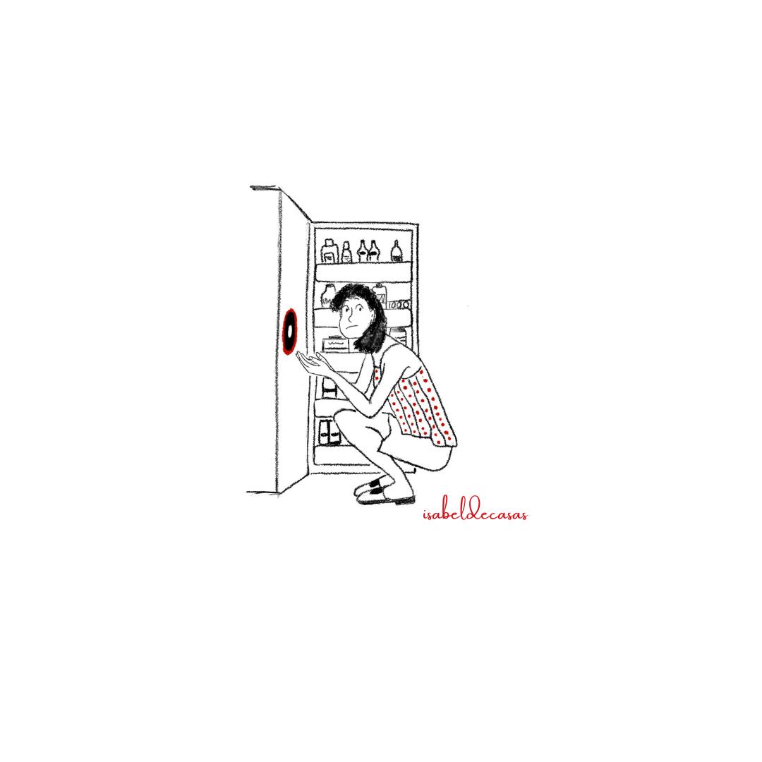 Ilustración de Isabel de Casas ¿Dónde está el amor?
