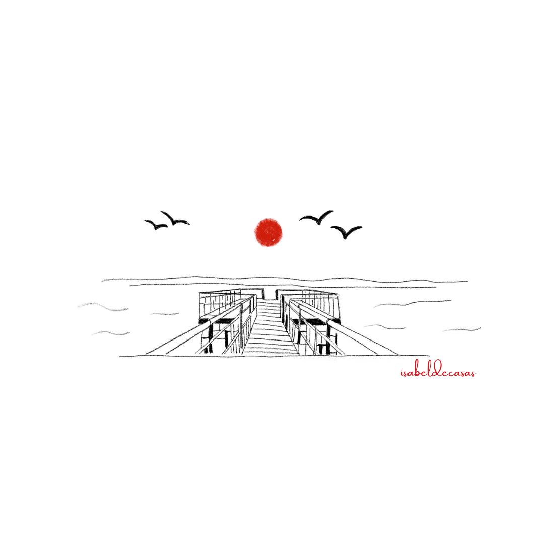 Ilustración de Isabel de Casas Una existencia auténtica
